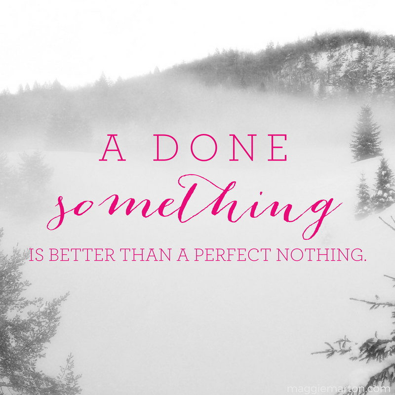 Writing Inspiration | A Done Something