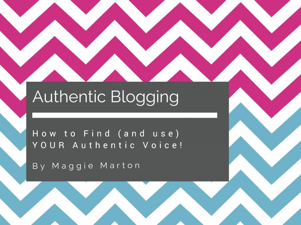 Authentic Blogging eBook