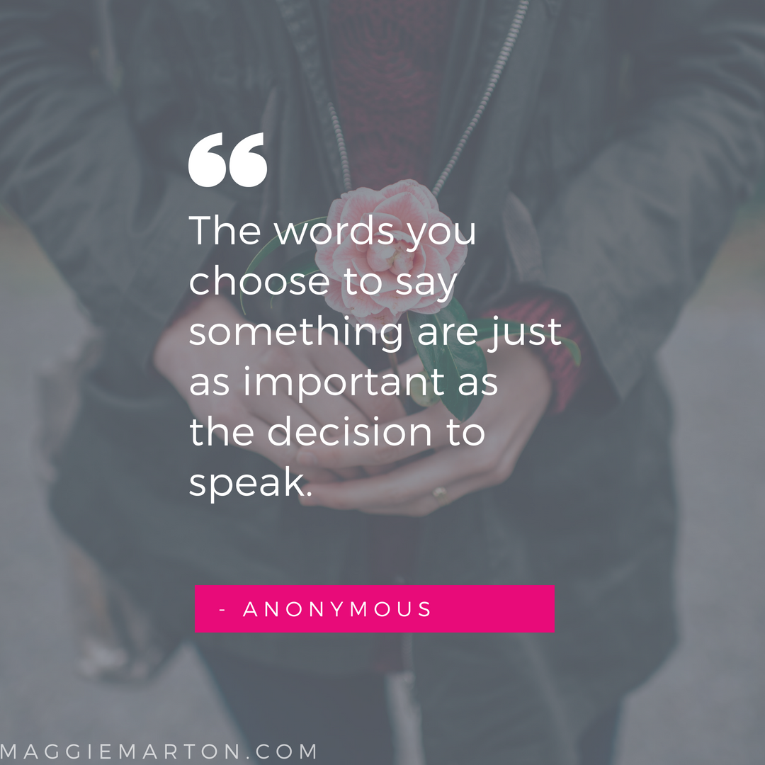 Writing Inspiration | Anonymous | maggiemarton.com