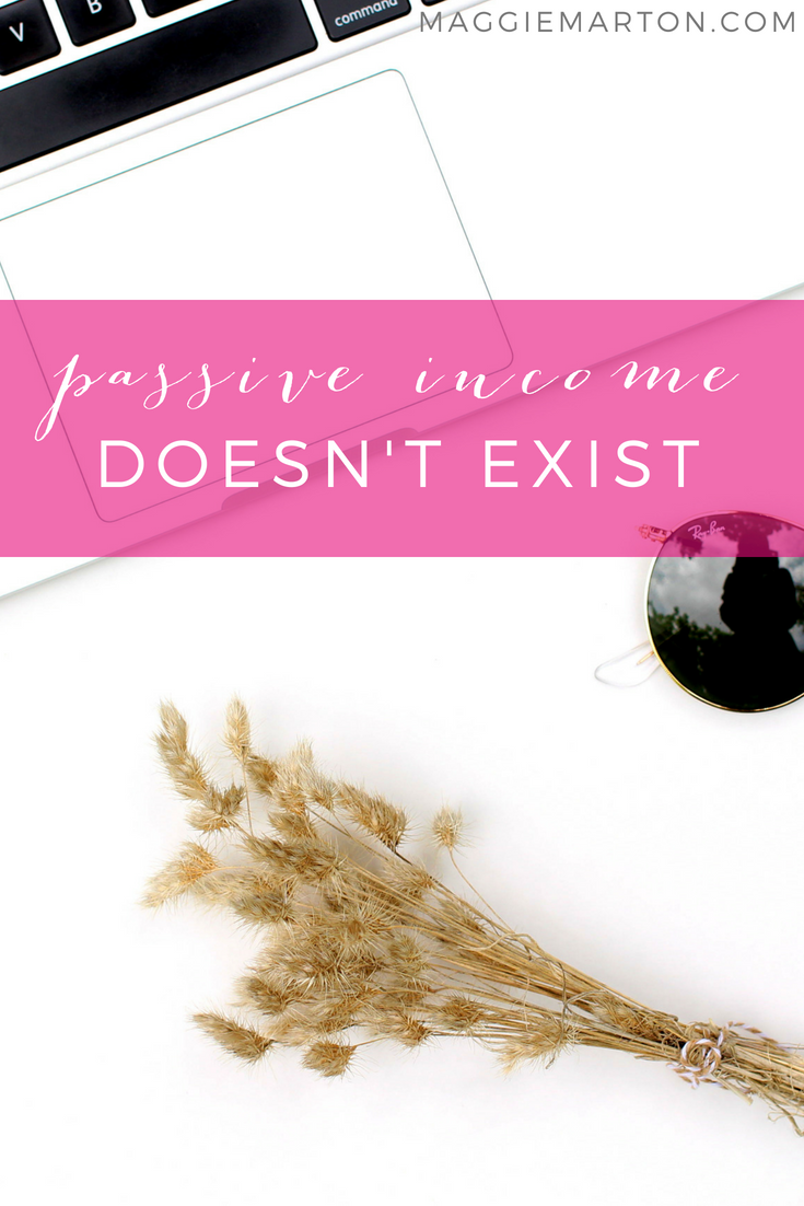There's No Such Thing as Passive Income