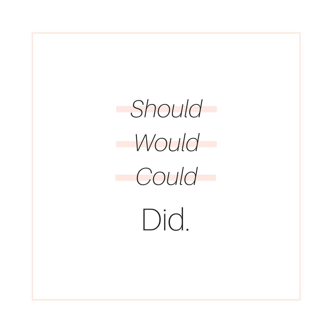 Writing Inspiration: Did it